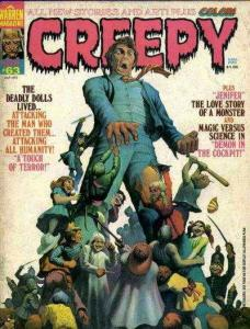 Creepy (1964 series) #63, Fine (Stock photo)