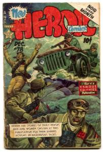 Heroic Comics #78 1952- Jeep cover FAIR