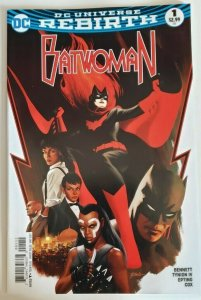 Batwoman #1 Rebirth (2017) NM 9.4 DC Comics Bennett/Tynion IV/Epting/Cox