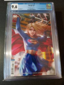 SUPERGIRL #33 CGC 9.6 RECALLED EDITION /VARIANT COVER