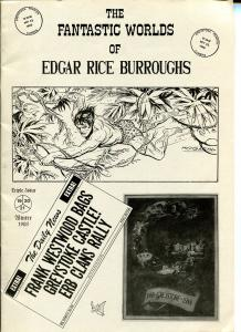Fantastic Worlds of Edgar Rice Burroughs #19/20/21 1988-British -Cawthorne-FN