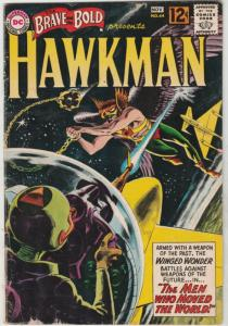 Brave and the Bold, The #44 (Nov-62) VG/FN Mid-High-Grade Hawkman