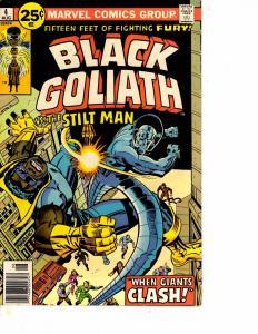 Lot Of 2 Marvel Comic Book Black Goliath #4 and Tarzan Lord of Jungle #6 BH52