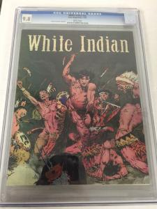 White Indian NN 1 Graphic Novel Cgc 9.8 Frank Frazetta Reprints Collection