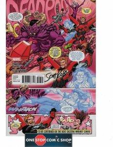 Deadpool #287 Secret Comic Variant signed Scott Koblish COA NM