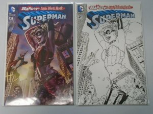 Superman (3rd Series) #47C+D Variants Harley Quinn 8.0 VF (2016)