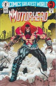 Comics' Greatest World: Steel Harbor #4, NM + (Stock photo)