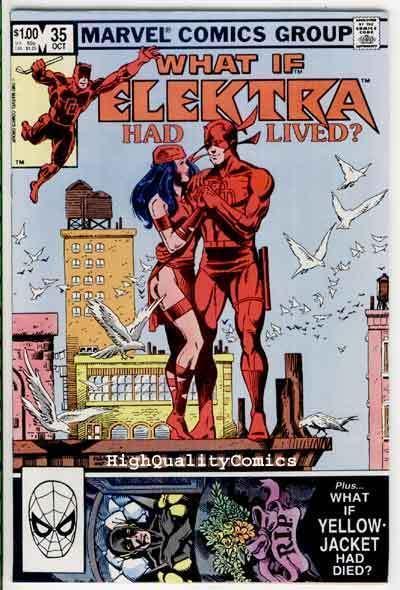 WHAT IF #35, VF/NM, Elektra had Lived?, DareDevil, Frank Miller, Marvel