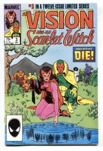 Vision and the Scarlet Witch #3-1985-comic book-Infinity War