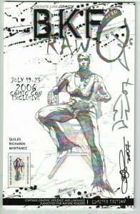 BFK #0 VF raw edition signed by Quiles, Richards, Montanez Bare Knuckled Fighter