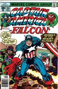 Captain America #214  Newsstand  VF+