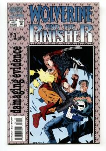 Wolverine and Punisher: Damaging Evidence #1-1993-first issue comic book