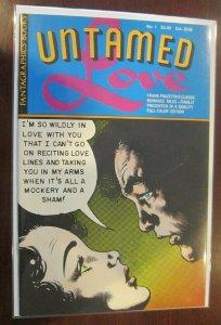 Untamed Love #1 8.0 VF (1987) Frazetta