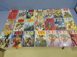 X-O Manowar Valiant Comic Book Lot #5 to #29, Some Missing, Database #1 & More
