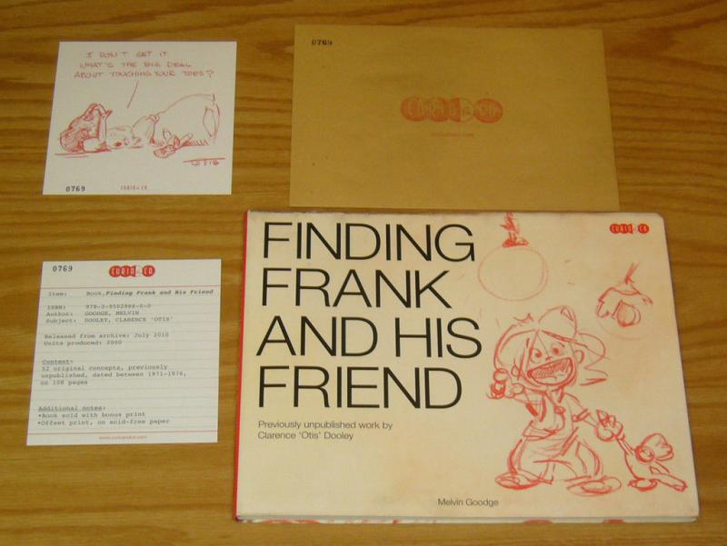 Finding Frank and His Friend SC VF- clarence otis dooley [#769 of 2000]
