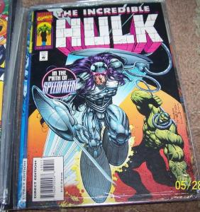 incredible hulk  # 430 1995 marvel speedfreek -  marvel