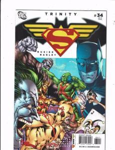 8 Trinity DC Comics # 34 35 36 37 38 39 40 41 Batman Wonder Woman Superman J212