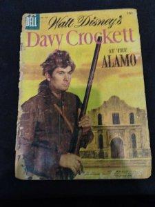 Dell Comics Walt Disney's Davy Crockett At The Alamo #639 Low Grade Copy 1955