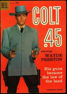 Four Color Comics #924 1958- Colt 45 TV Photo cover Dell FN+