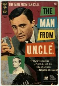 MAN FROM UNCLE (1965-1969 GOLD KEY) 4 G-VG PHOTOCOVER: COMICS BOOK