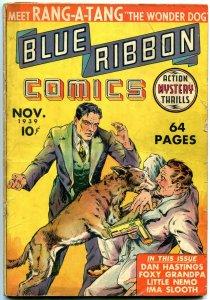 Blue Ribbon Comics #1 1939 FIRST MLJ COMIC BOOK- Rang a Tang- Little Nemo G/VG