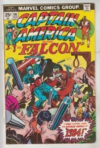 Captain America #195 (Mar-76) NM- High-Grade Captain America