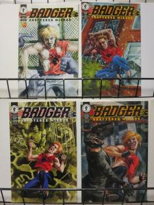 BADGER SHATTERED MIRROR (1994 DH) 1-4  Baron & Thompson