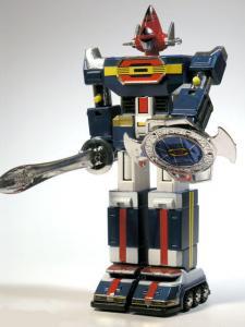 GoDaiKin DYNAMAN ST1 Bandai Popy Chogokin Transformer Shogun Warrior Small Die