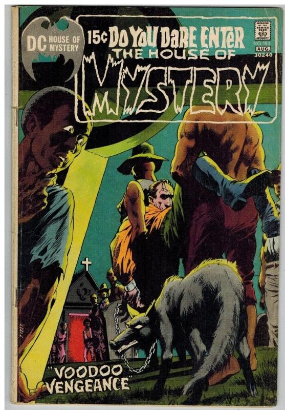 HOUSE OF MYSTERY 193 VG+ Aug. 1971