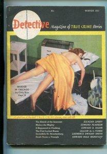 DETECTIVE-#1-WINTER 1951-CRAIG RICE-SOUTHERN STATES PEDIGREE-fn
