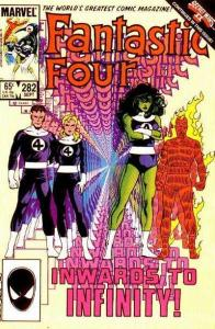 Fantastic Four (1961 series) #282, VF (Stock photo)