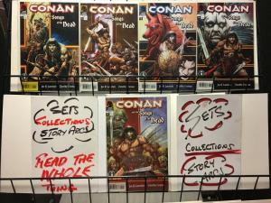CONAN & SONGS OF THE DEAD (2006 DH)1-5 Lansdale, Truman