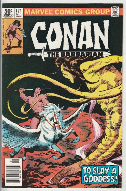 Conan the Barbarian #121 (Apr-81) VF High-Grade Conan the Barbarian