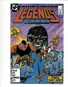 Lot Of 5 Legends DC Comic Books # 1 2 3 4 5 Waller & Suicide Squad VF-NM J371