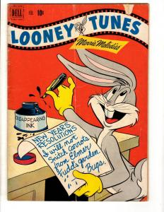 Looney Tunes & Merrie Melodies #124 VG Dell Golden Age Comic Book Bugs Bunny JL8