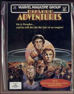 BIZARRE ADVENTURES 30 VERY FINE VOSBURG/JUSKO (PARADOX) COMICS BOOK