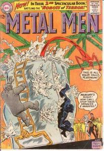 METAL MEN 2 G-VG   July 1963 COMICS BOOK