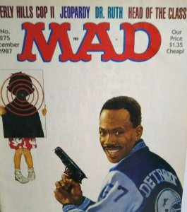 MAD Magazine Dec 1987 No 275 Beverly Hills Cop II Eddie Murphy Cover Dr. Ruth