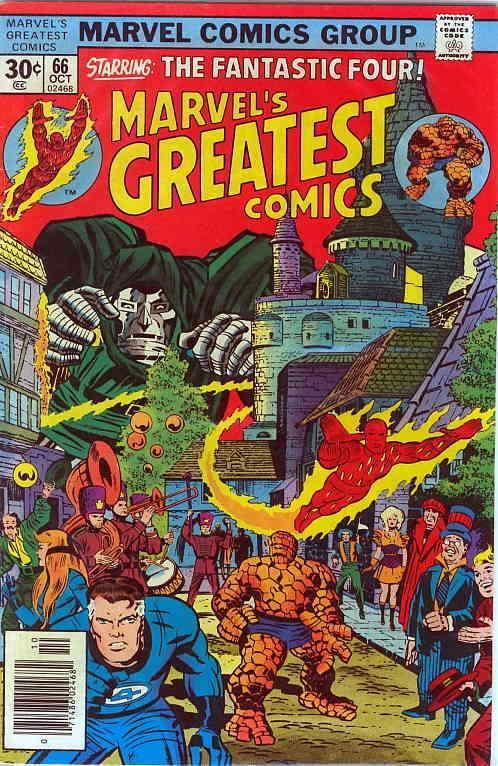 Marvel's Greatest Comics #66 FN; Marvel | save on shipping - details inside