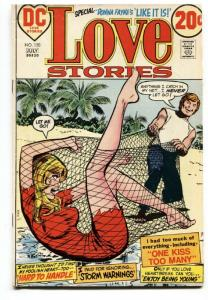 LOVE STORIES #150-D.C. VG  ROMANCE-SILVER AGE-WOMAN CAUGHT IN NET!