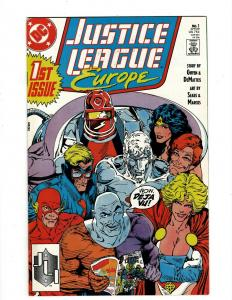 Lot of 12 Justice League Europe Comic Books #1 2 3 4 5 6 7 8 9 10 11 12 J404