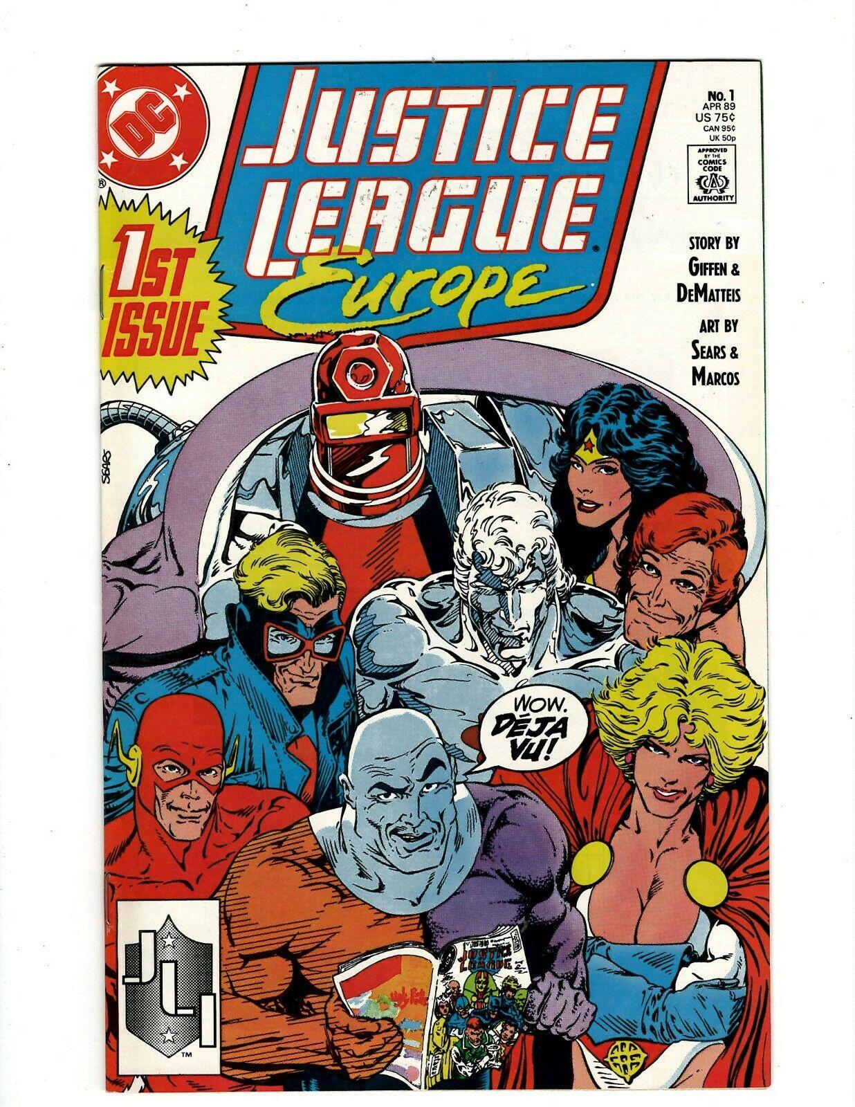Justice League Europe 1989 series annual # 3 near mint comic book