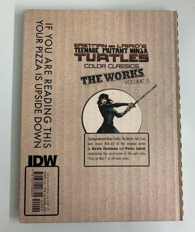 Teenage Mutant Ninja Turtles TMNT The Works Vol. 5 Hardcover 2016 Kevin Eastman