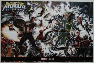 Avengers No Surrender 2017 Folded Promo Poster [P42] (36 x 24) - New!