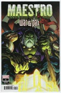 Maestro War & Pax # 1 Stegman Variant Cover NM Marvel