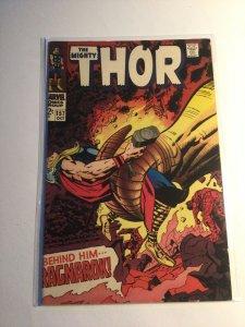 Thor 157 Fine fn 6.0 Marvel