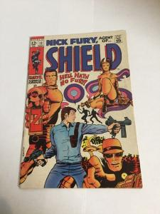 Nick Fury Agent Of Shield Vg/Fn Very Good/Fine 5.0 Silver Age