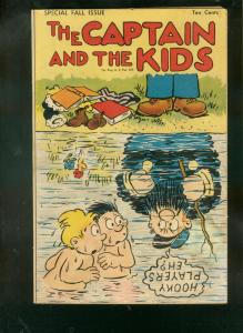 CAPTAIN AND THE KIDS-SPECIAL FALL ISSUE 1948-SLAPSTICK  VG