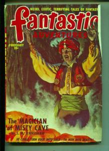 Fantastic Adventures-Pulp-2/1949-Edgar Polk-R.K. Dirk-S. M. Tenneshaw