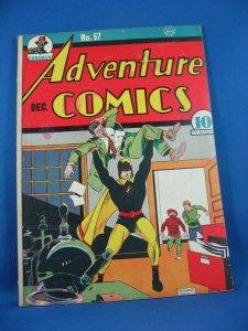 ADVENTURE COMICS 57 Fine VF Sandman 1940